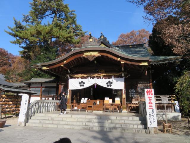 東京都布多天神社の本殿