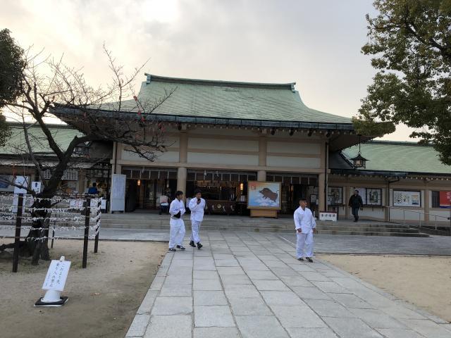 大阪府生國魂神社(難波大社)の本殿