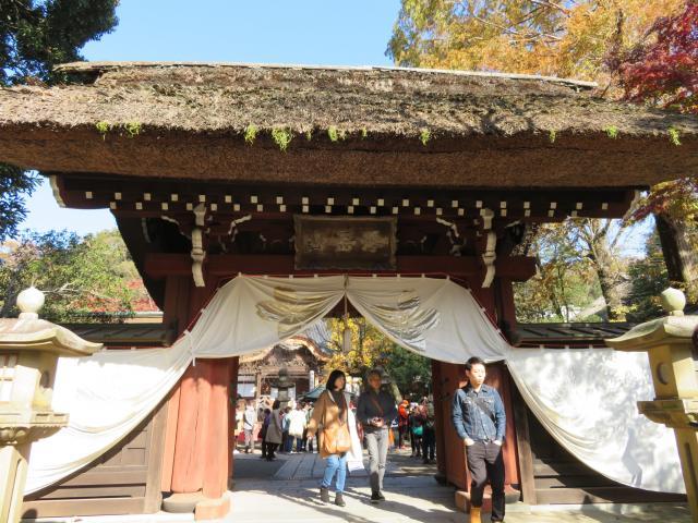東京都深大寺の山門