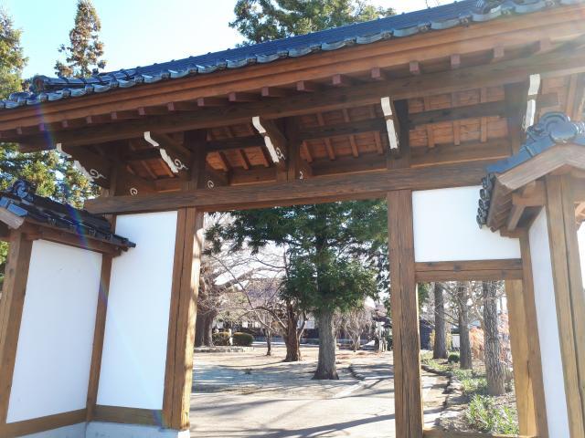 松岩寺の山門
