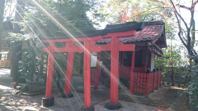 京都府岡崎神社の鳥居