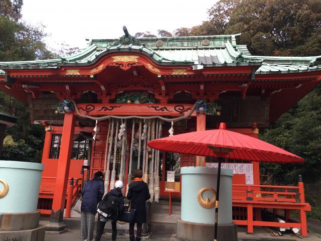 神奈川県海南神社の本殿