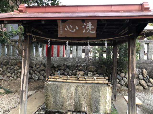 出雲伊波比神社の手水