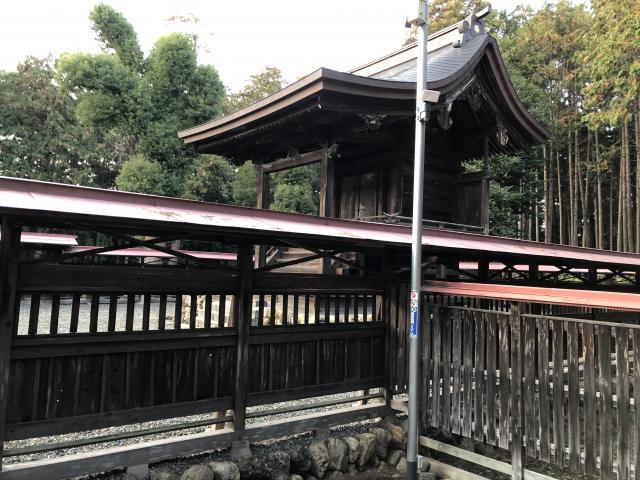 埼玉県出雲伊波比神社の本殿