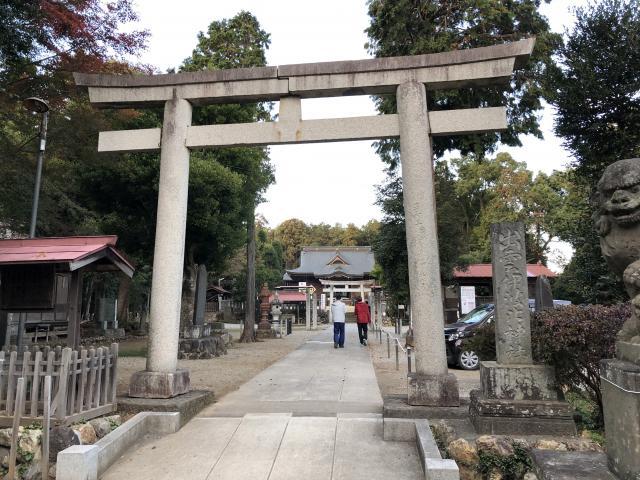 埼玉県出雲伊波比神社の鳥居