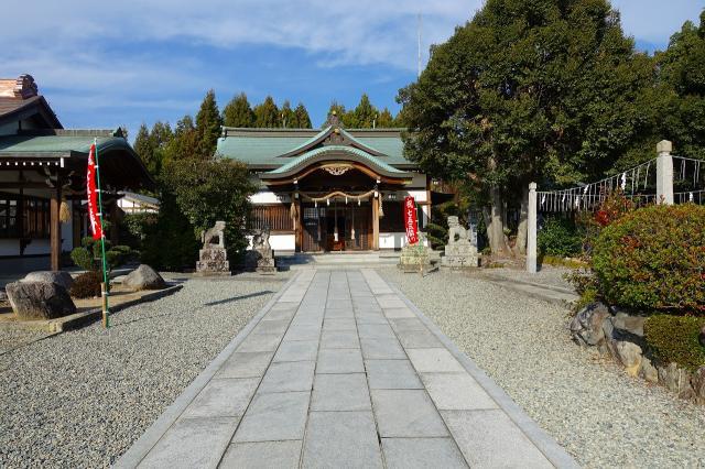 爲那都比古神社の本殿