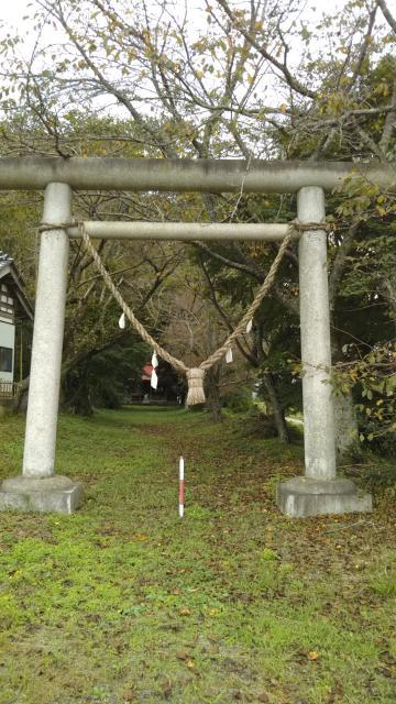 草懸神社の鳥居