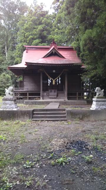 草懸神社の本殿