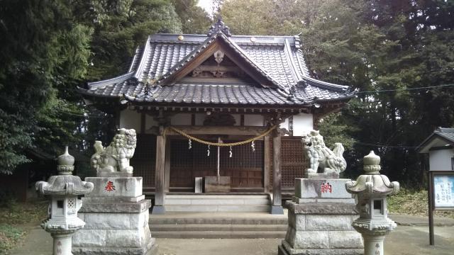 桑原神社の本殿
