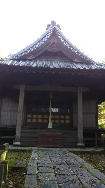 茨城県館山神社の本殿