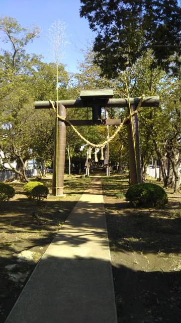 阿彌神社の鳥居