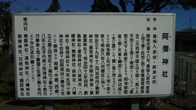 阿彌神社の建物その他