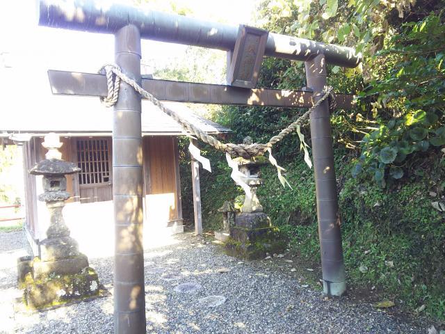 八坂神社(千葉県上総亀山駅) - 鳥居の写真