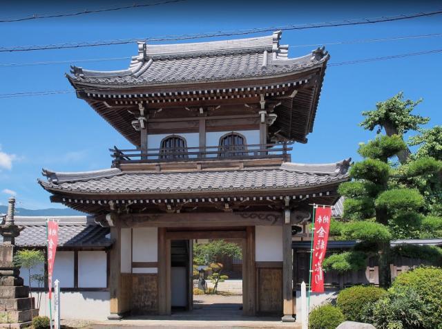 岐阜県法幢寺の本殿