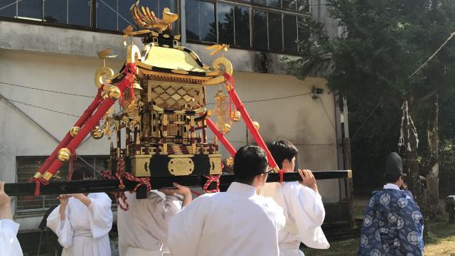 宮崎県尾八重神社の写真
