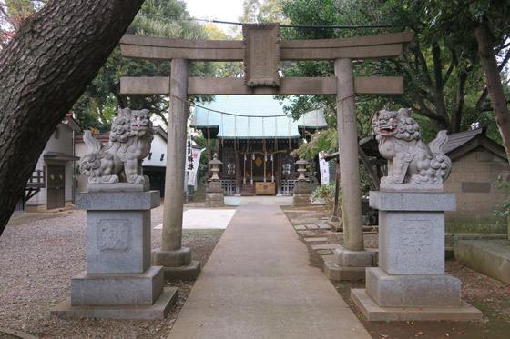 大谷口氷川神社の写真