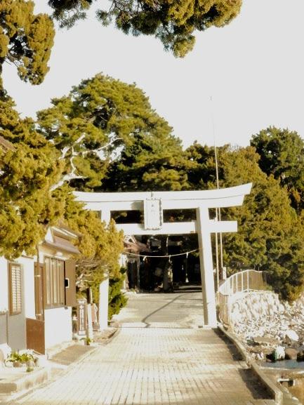 静岡県大瀬神社の鳥居