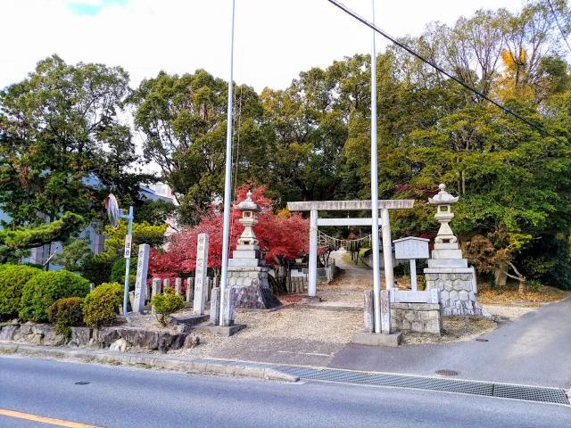 愛知県一之御前社の鳥居