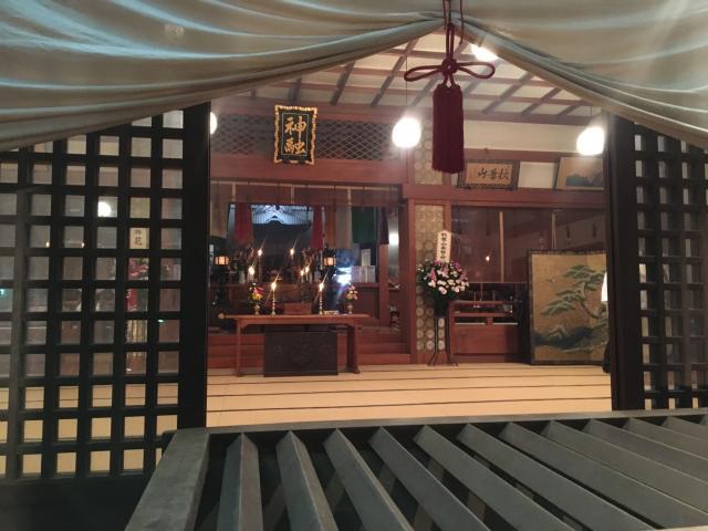 秋葉山量覚院の本殿