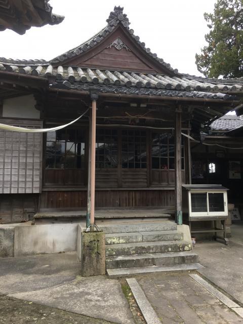 愛知県尾風山 泉蔵院の本殿