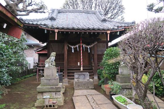 轡神社の本殿