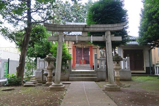 豊敬稲荷神社(ときわ台天祖神社境外末社)の鳥居