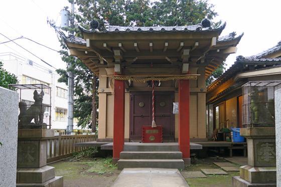 豊敬稲荷神社(ときわ台天祖神社境外末社)の本殿