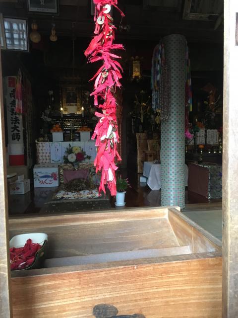 愛知県井際山 持宝院の本殿