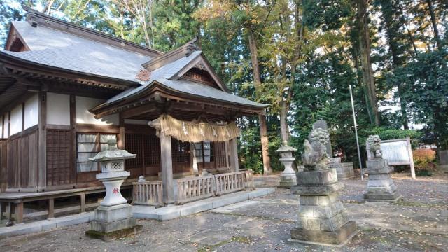 大國玉神社の本殿