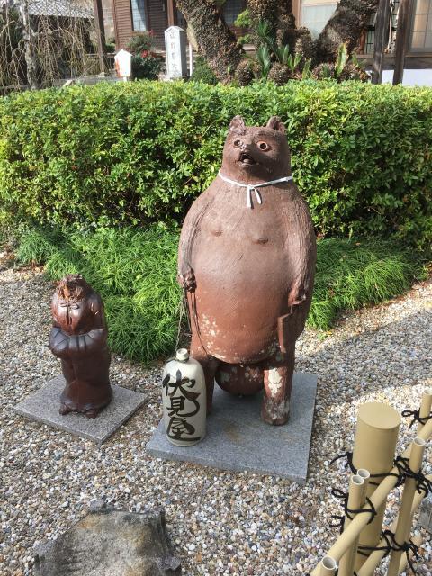 吉祥寺の狛犬