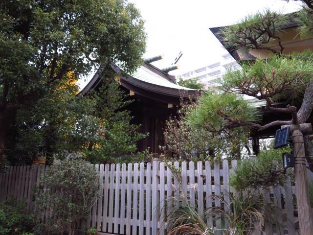 嚴島神社の本殿