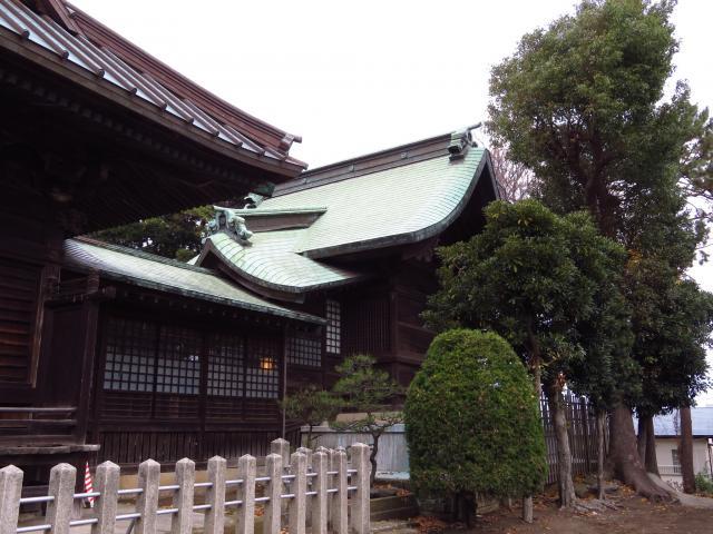 八王子神社の本殿