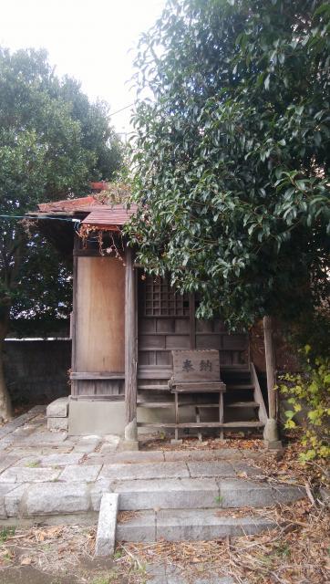 茨城県水雷稲荷神社の本殿