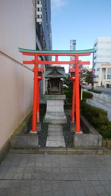 茨城県稲荷神社の本殿