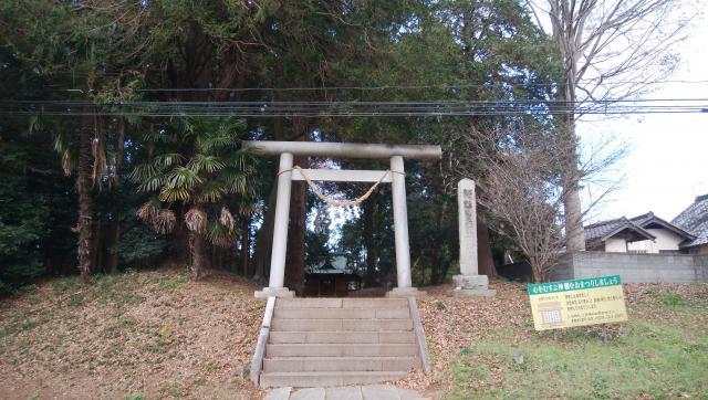 茨城県息栖神社の本殿