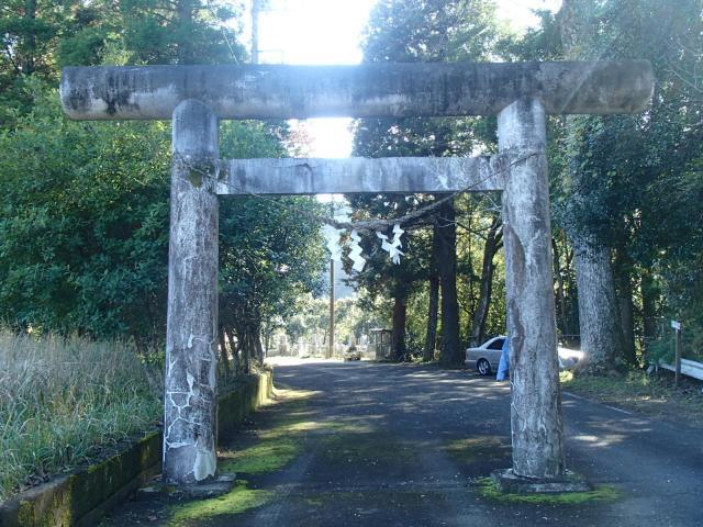 龜山神社の鳥居