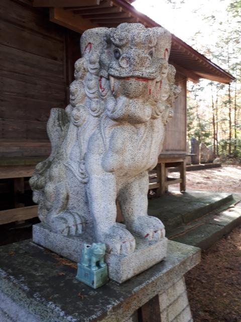 火産霊神社の狛犬