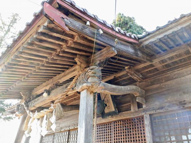 岩手県永岡神社の本殿