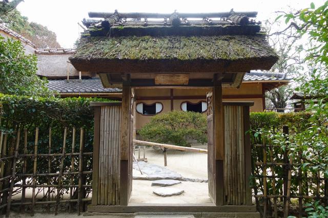 京都府詩仙堂(丈山寺)の山門
