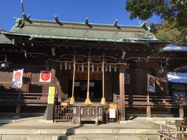 宮城県青葉神社の本殿