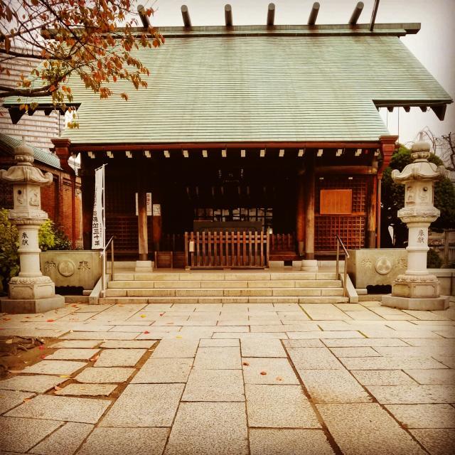 東京都住吉神社の本殿