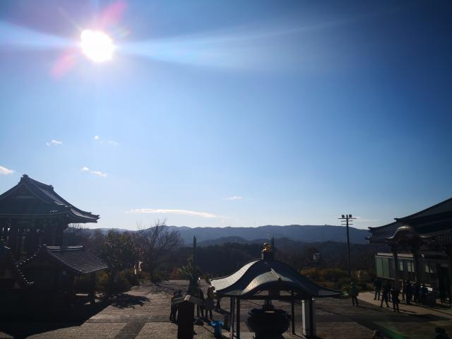 一畑山薬師寺の景色