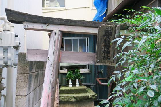 二守稲荷神社の鳥居