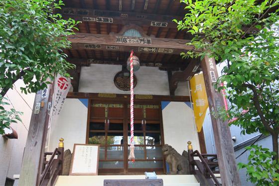 東京都諏訪神社の本殿