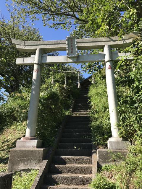 千葉県猿田彦神社の鳥居