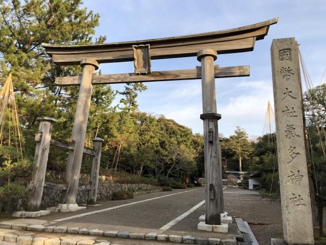 石川県氣多大社の本殿