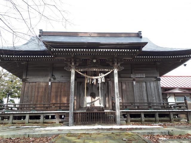 出羽神社の本殿