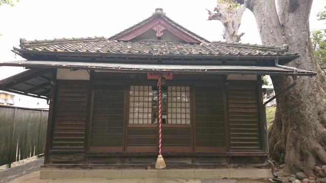 正一位霊験稲荷神社の本殿