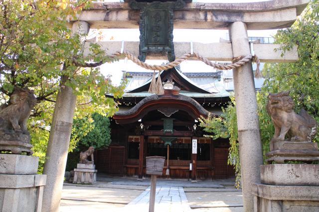 京都府菅大臣神社の鳥居