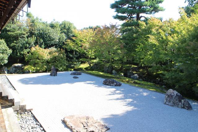 相国寺の庭園